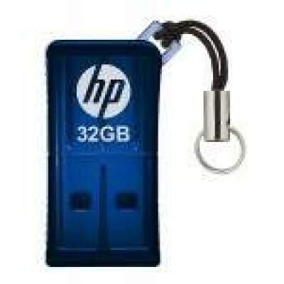 PEN DRIVE 32 GB FLASH DRIVE BLUE USB 2.0 HPFD165W2-32