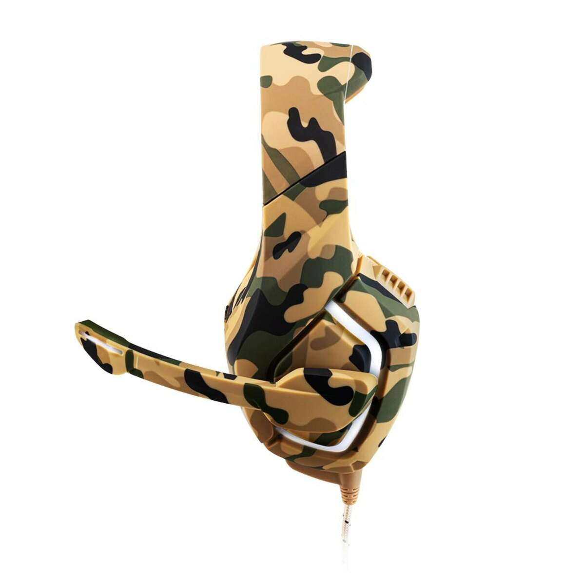 HEADSET GAMER WARRIOR STRATON CAMUFLADO PH305