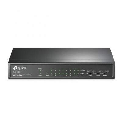 SWITCH 09 PORTAS 10/100 MBPS TL-SF1009P