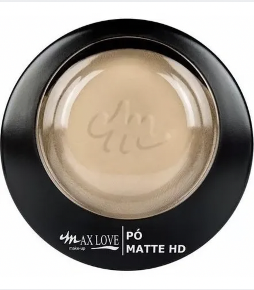 PÓ COMPACTO FACIAL MATTE HD MAX LOVE - 26 LIGHT