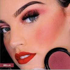 BLUSH TOQUE AVELUDADO FACE BEAUTIFUL - BELLA