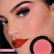 BLUSH TOQUE AVELUDADO FACE BEAUTIFUL - MARAVILHA