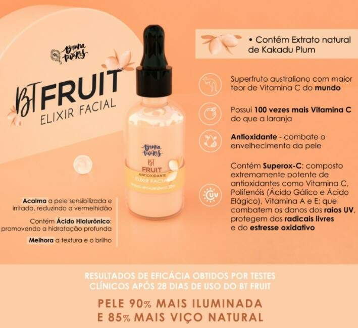 BT FRUIT BRUNA TAVARES - ELIXIR FACIAL VITAMINA C
