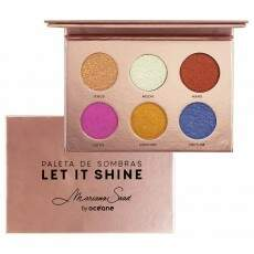 PALETA DE SOMBRAS LET IT SHINE MARIANA SAAD