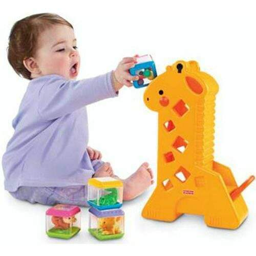 GIRAFA COM BLOCOS FISHER PRICE (MATTEL) B4253