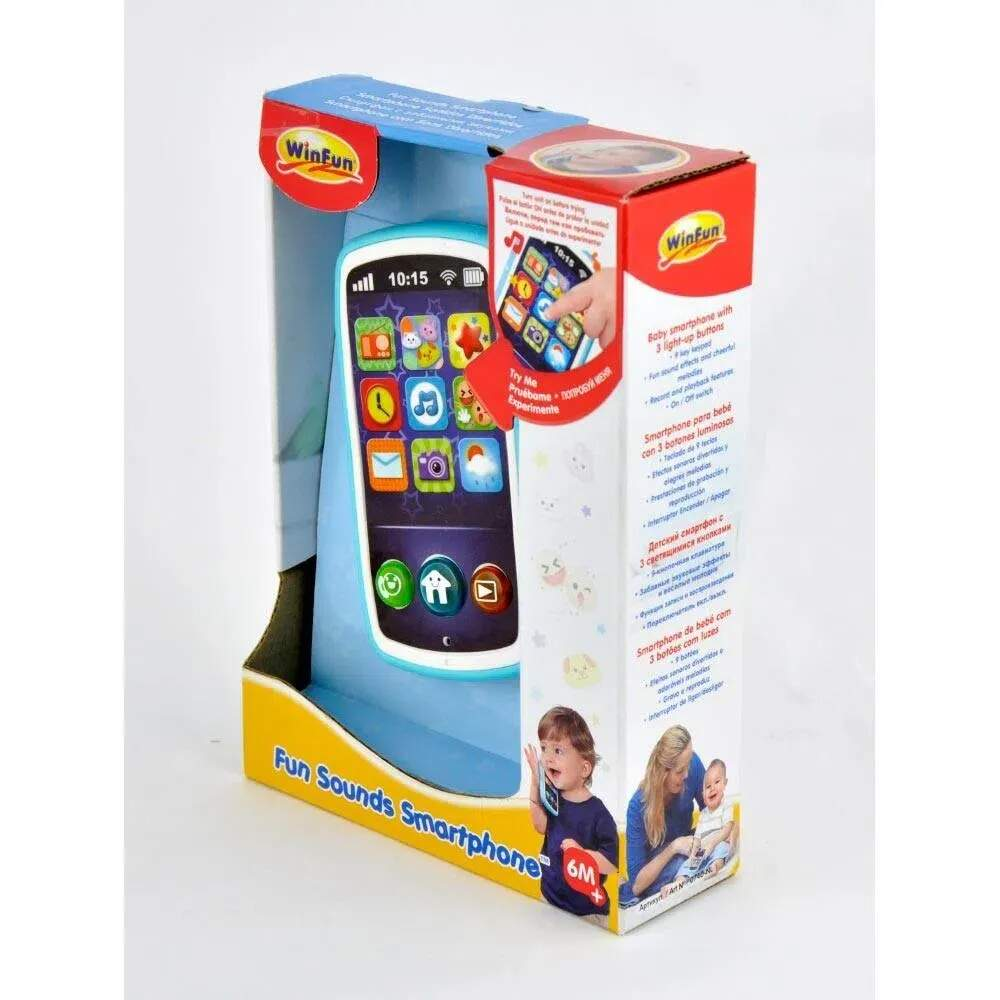 SMARTPHONE DIVERTIDO (YES TOYS) 0740