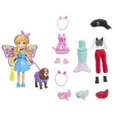 POLLY POCKET KIT CACHORRO FANTASIAS COMBINADAS (MATTEL) GDM15