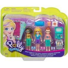 POLLY POCKET PACK COM 3 FESTA DO PIJAMA (MATTEL) GMF82