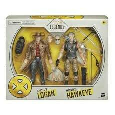 MARVEL LEGENDS X-MEN LOGAN e HAWKEYE (HASBRO) E9296