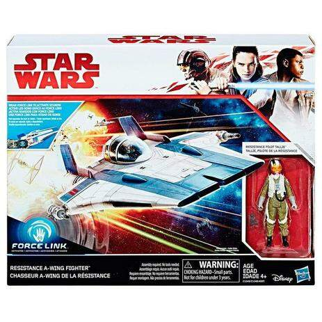 STAR WARS VEICULO RESISTANCE A WING FIGHTER (HASBRO) C1249