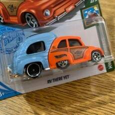 HOT WHEELS CARRINHO BASICO RV THERE YET (MATTEL) C4982