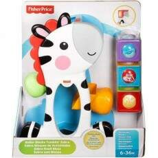 FISHER PRICE ZEBRA COM BLOCOS (MATTEL) CGN63
