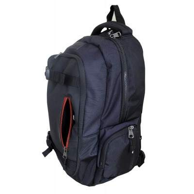 Mochila Notebook 16 Polegadas Preto Casual com bolsos laterais ML14098