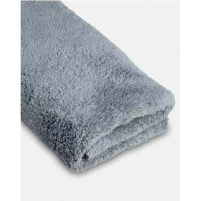 ADAMS BORDERLESS GRAY TOWELS
