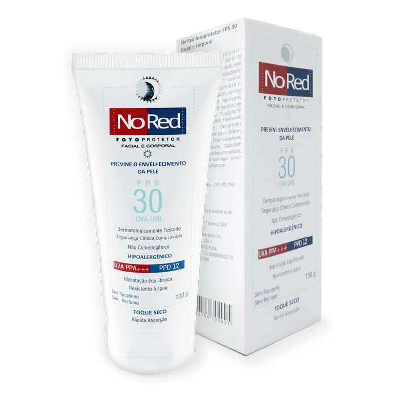 NoRed FPS 30 Toque Seco - 100g