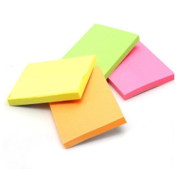 12 Blocos Adesivos Post-It Lembrete - Retângulo 50x76mm