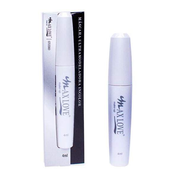 Máscara Incolor Ultra Modeladora Para Cílios Max Love 4 ML