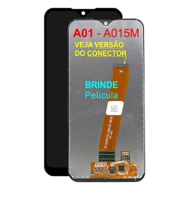 TELA FRONTAL DISPLAY LCD TOUCH SCREEN SAMSUNG GALAXY A01 A015