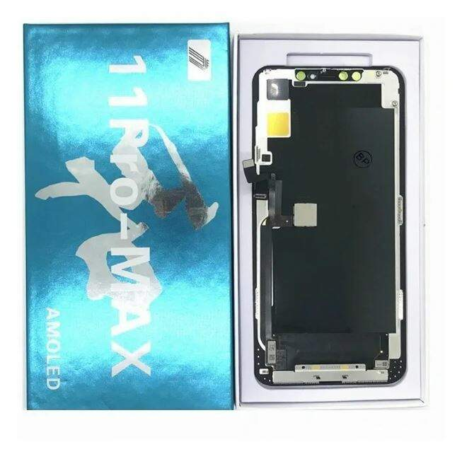 TELA FRONTAL DISPLAY LCD TOUCH SCREEN APPLE IPHONE 11 PRO MAX AMOLED