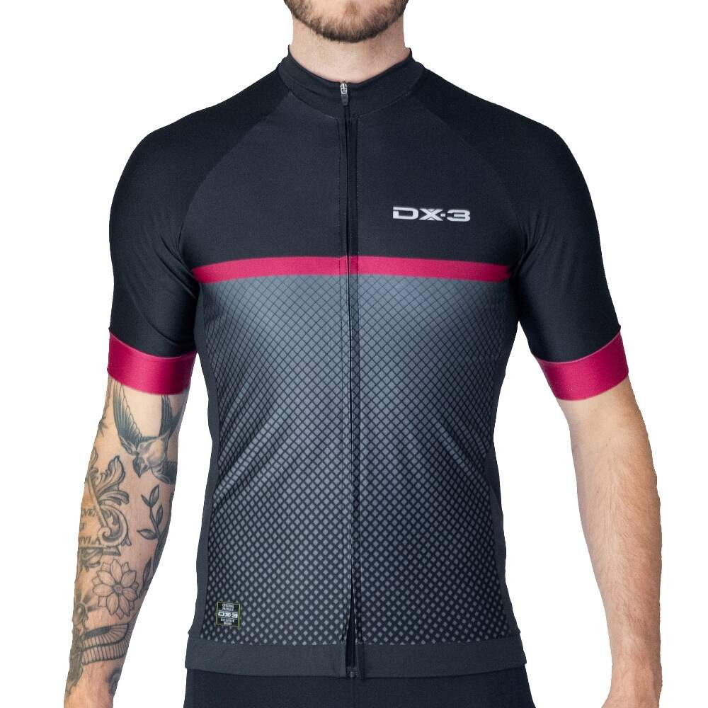 Camisa DX-3 Ciclismo Masculina Fast 06