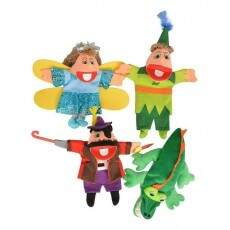 Kit Fantoches Peter Pan (4 Personagens)